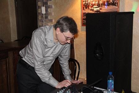 Александр - диджей, организатор